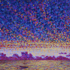 "Sailboats, Sunset and Particle Diversion 2; 20"" x 30"" title="